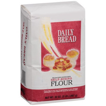 Sanford Milling Co., Inc. Daily Bread Bleached-Enriched Self-Rising Flour, 32 oz