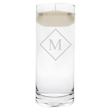 Cathy's Concepts Diamond Initial Floating Unity Candle M