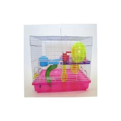 YML Small Animal Modular Habitat with Wheel and Water Bottle