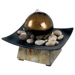 Kenroy Home 50235Sl Sphere Indoor Table Fountain