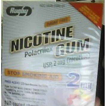 Rugby Laboratories Rugby Nicotine Gum 2mg 100ct. Fruit *Compare to Nicorette Gum*