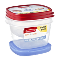 Rubbermaid Blue Ice Easy Find Lids Value Pack