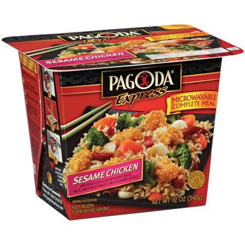 Pagoda Express Complete Meal Sesame Chicken, 12 oz