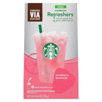 Starbucks Via Refreshers Strawberry Lemonade