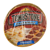 Tombstone Half & Half Pizza Pepperoni/Cheese