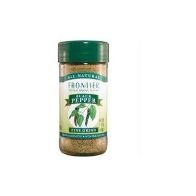 Frontier Natural Products Black Pepper Fine Grind - 1.76 oz