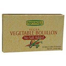 Rapunzel Organic Vegetable Bouillon (No Salt), 3 pk