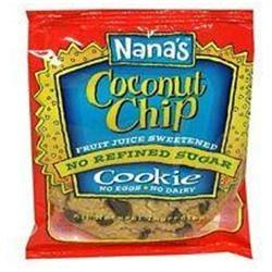 's Cookies Nanas Cookies 32648 Coconut Chip Cookie