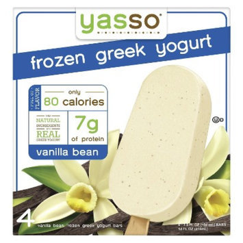 Yasso Frozen Greek Yogurt Vanilla Bean 4 ct
