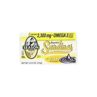 Seasons Sardines In Water NSA (12x4.25 Oz)
