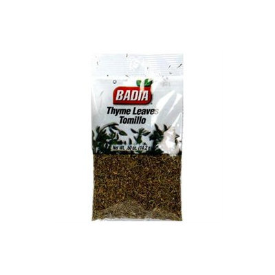 Badia Thyme Leaves Cello 0.50 oz (Pack of 12)