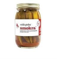 KeHe Distributors 402245 RICKS PICKS SMOKRA PICKLED - Pack of 6 - 15 OZ