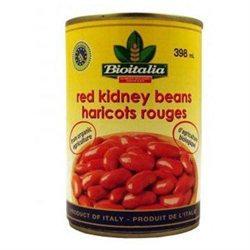 Bioitalia Red Kidney Beans 14-Ounce (Pack Of 12)
