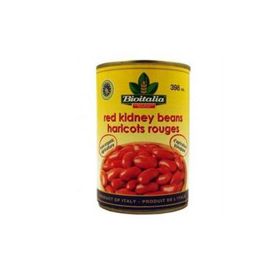 Bioitalia Red Kidney Beans 14-Ounce (Pack Of 12)
