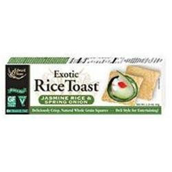 Edward & Sons 62042 Sprng Onion Brown Rice Toast