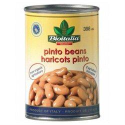 Bioitalia Pinto Beans 14-Ounce (Pack Of 12)