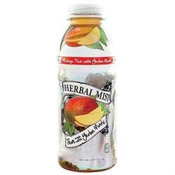 Herbal Mist Mango Tea With Yerba Mate - Bottles (Pack of 12)