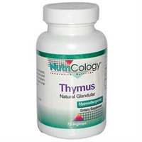 Allergy Research nutricology Allergy Research (Nutricology) Thymus Organic Glandular - 75 Capsules - Other Supplements
