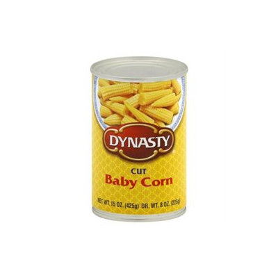 Dynasty Cut Baby Corn 15 oz