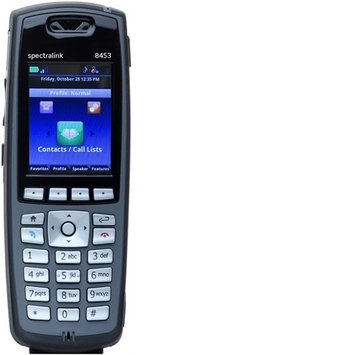 Spectralink 8453 Black Handset without Lync Support