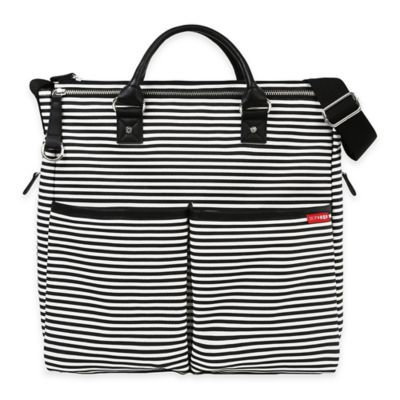 Infant Girl's Skip Hop 'Duo - Special Edition' Diaper Bag - Black