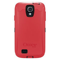 Otterbox Defender Cell Phone Case for Samsung Galaxy S4 - Raspberry