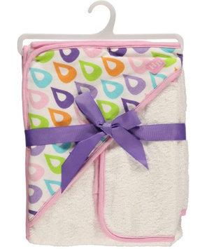 Hudson Baby Droplets Hooded Towel & Washcloth