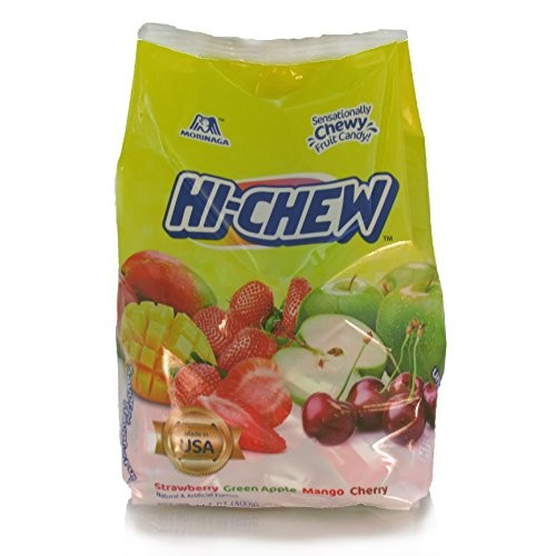 Morinaga Hi-Chew Sensationally Chewy Fruit Candy, Assorted Flavors, 14.1 Ounce []