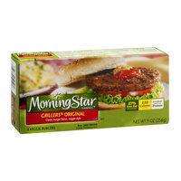 MorningStar Farms Grillers Veggie Burgers Original - 4 CT