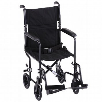 Nova Transport Chair Lightweight with S/A Footrests