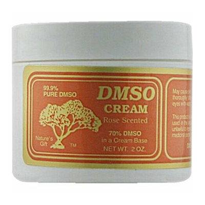 DMSO Cream Rose Scented 2 oz
