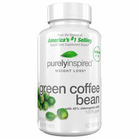 Purely Inspired Green Coffee Bean Dietary Supplement Tablets