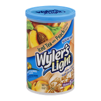 Wyler's Light Sugar Free Low Calorie Soft Drink Iced Tea with Peach