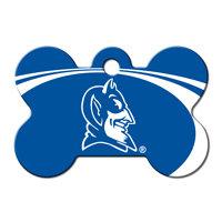 Quick-Tag Duke Blue Devils NCAA Bone Personalized Engraved Pet ID Tag, 1 1/2 W X 1 H