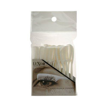 Luxor Professional Deluxe Disposable Combs for Lashes - (02-PP6)