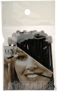 Luxor Professional Deluxe Disposable Brushes for Eyes/Lips - (02-PP8)