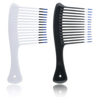 Hot Waves Jumbo Shampoo Rake Model No. 0651T (Assorted Colors)