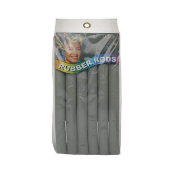 Luxor Professional Rubber Rods 3/4 Inch - Grey 2471G