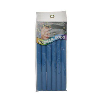 Luxor Professional Rubber Rods 1/2 Inch - Blue 2471B
