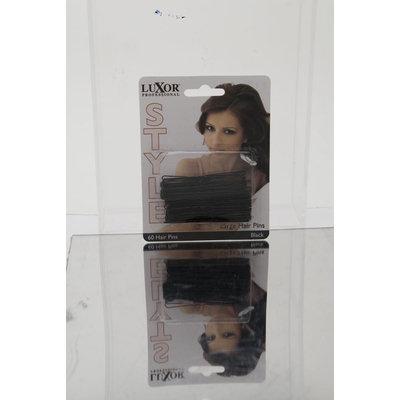 Luxor Professional Style Large Hair Pins 60 Hair Pins - Black