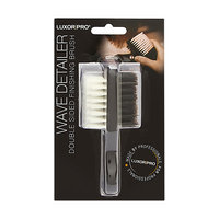 Luxor Professional Luxor Pro Waved Detailer Double Sided Finishing Brush