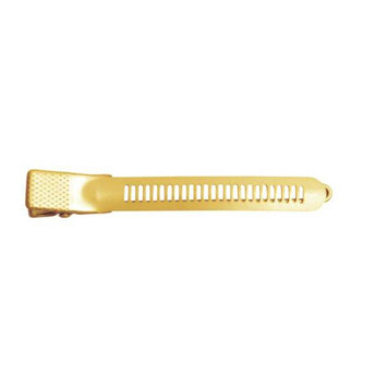 Bombshell 3 Rubberized Vented Hair Clips Model No. 5185BD - Blonde