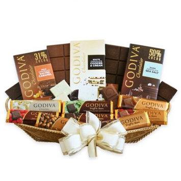 Givens Gift Basket, Godiva Bars Galore, 4 Lb