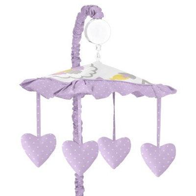 Sweet JoJo Designs JoJo Designs Lavender Suzanna Musical Mobile