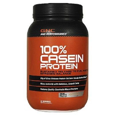GNC Pro Performance 100% Casein Protein, Chocolate Peanut Butter, 2 lbs