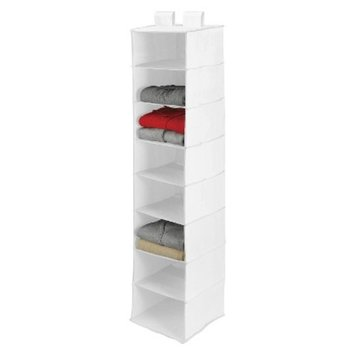 Honey-Can-Do 8 Shelf Closet Organizer White
