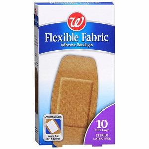 Walgreens Bandage Fabric Assorted