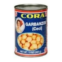 Cora Cheese Chick Peas, 14-Ounce (Pack of 24)