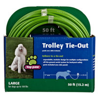 Top Paw Large Breed Trolley Tie-Out