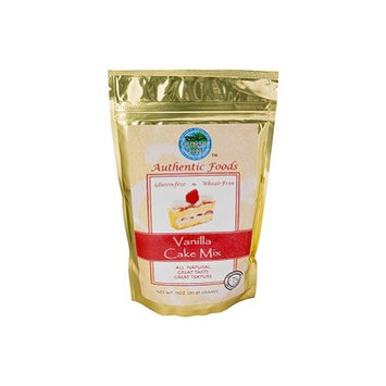 Authentic Foods, Mix Gfwf Cake Vanla, 11-Ounce (3 Pack)